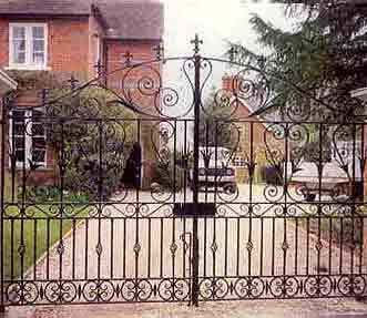 Mild Steel Entry Gate