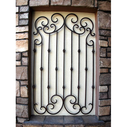 Metal Window Grills Design Pictures to pin on Pinterest