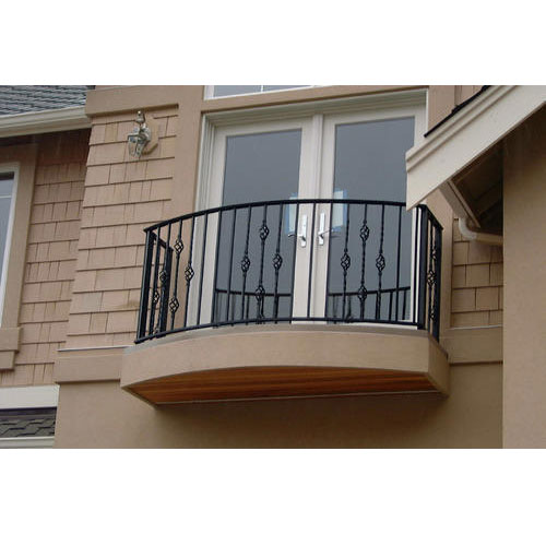 Wrought Iron Balcony Railings